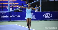 9/16/14  #3-Seed Sloane Stephens of the US lost 3-6, 6-4, 4-6 to Spain's Silvia Soler-Espinosa in the 1st rd at the Guangzhou Internat'l Women's Open.