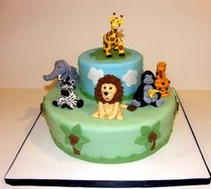 Safari Cake By LisaR64 on CakeCentral.com