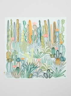 Couverture and The Garbstore - Womens - SuTurno - Cactus Scarf