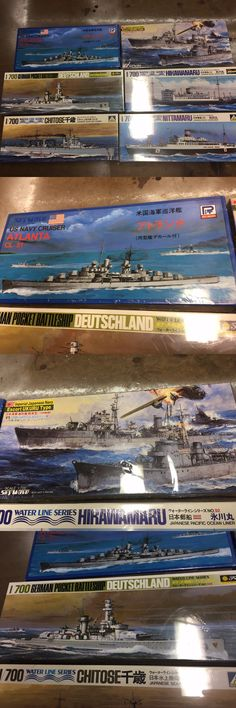 Other Boat Ship Models and Kits 4248: Lot Of 6 1 700 Scale Model Ships Us Japanese Navy Sky Wave Pit Road Water Line -> BUY IT NOW ONLY: $90 on eBay!