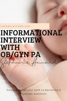 Savanna Perry, PA-C and Stephanie Howard share detailed information you want to read if you are considering becoming an OB/GYN Physician Assistant on The PA Platform Physician Assistant Education, Becoming A Physician Assistant, Pa School, Medical School, Graduate School, Obstetrics And Gynaecology, Pa C, Childbirth Education, Prenatal Yoga