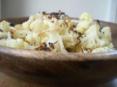 ::  CITRON  ::: Chou-fleur rôti au parmesan + à l'huile d'olive