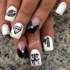 Badass nail art nail art pinterest badass makeup and nail nail instagram photo by dndang nail nails nailart prinsesfo Images