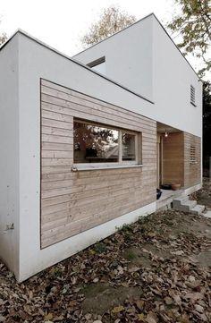 Ideas exterior wood facade building for 2019 Timber Cladding, Exterior Cladding, Contemporary Architecture, Interior Architecture, Contemporary Houses, Pavilion Architecture, Organic Architecture, Residential Architecture, Exterior Design