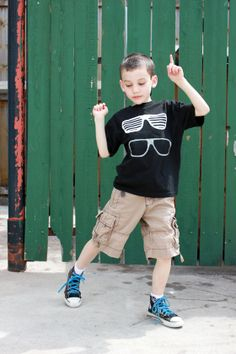 delia creates: Rainbow: Fabric Painted Boys T-shirt Inspiration
