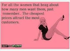 For all the women that brag about how many men want them