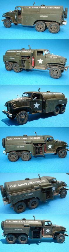 Tamiya 1/48 GMC 6X6 Airfield Fuel Tanker  http://www.network54.com/Forum/47751/message/1402866483/Tamiya+1-48+GMC+6X6+Airfield+Fuel+Tanker+-+Finished+Product