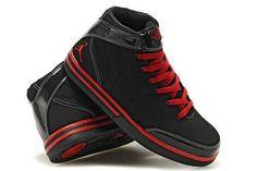 Jordan Pro Classic-Black Red Shoes