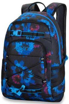 8fd5c73df51 DaKine Girls Grom Backpack - Blue Flowers