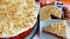 Mrkvový dort s vanilkovým tvarohem a nízkým počtem kalorií (Recept) Carrot Cake, Stevia, Food Inspiration, Carrots, Fries, French Toast, Food And Drink, Low Carb, Sweets