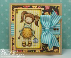 Scrap-a-licious-times: Cooking Mo Manning Card.