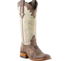 Nocona Boots Square Toe Cowboy Boots - Leather Square Toe (For