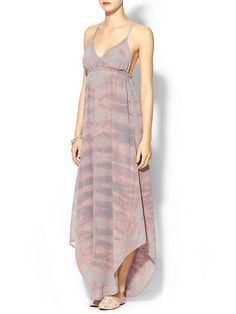 249.00 Gypsy 05 Paloma Silk Maxi Dress | Gypsy 05 | Pinterest