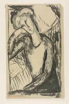 Amedeo Modigliani Italian, 1884-1920 Portrait of a Young Woman, n.d. Art Institute Chicago | por renzodionigi