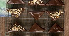 Chocolate lovers will adore these Chocolate Ganache Brownies. There's so much chocolate going on here!