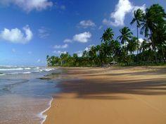 Localizada em frente à baía de Camamu, entre Morro de São Paulo e Itacaré, a Península de Maraú oferece mais de 40 km de praias como a de Mombaça