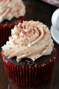 ... Mexican Hot Chocolate Cupcakes or any other chocolate based cake or