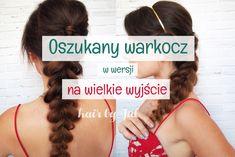 Oszukany warkocz krok po kroku! Fryzura na imprezę #pull-through braid #braid #tutorial #hair #hairstyle #braids #warkocze #hairblog