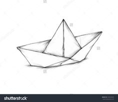 Image result for newspaper boat drawing