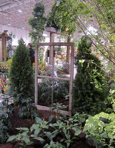 Veggie garden ideas at Canada Blooms 2013.