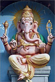 Hindu Gott | Lord Ganesha Poster von Olaf Protze