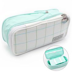 Expandable Korean Style Pencil Case: 13 colors – Otrio Stationery & Gifts - Diy and crafts interests Cute Pencil Pouches, Cool Pencil Cases, Pencil Bags, Best Pencil Case, Stationary School, Cute Stationary, School Suplies, Cool School Supplies, Stabilo Boss