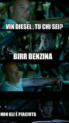 FAST AND FURIOUS E DIESEL -__-