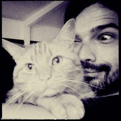 "Tomo Milicevic's photo: SO MILO WAS TELLIN ME ""DON'T LOOK AT ME LIKE THAT DUDE"".  I WAS ALL LIKE ""WHAT'CHA GOIN DO BOUT IT SUCKA???""...    2012 ANIMAL KINGDOM TREATY"