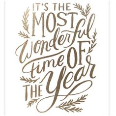 It definitely is The Most Wonderful Time of the year! Love this fool print from Minted.com Friday Favorites / Two Plus Luna