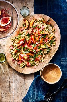 Summer Nectarine and Herb Salad