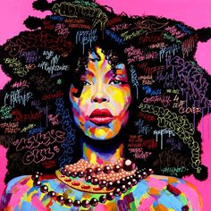 Street art - colours - afro