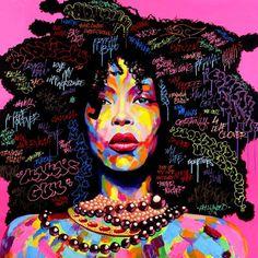 Street art - colours - afro