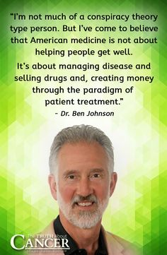 Can common tests and treatments actually GIVE you cancer? And if so, what are the alternatives? Dr. Ben Johnson sheds some light. Click on the quote above to watch the video interview.