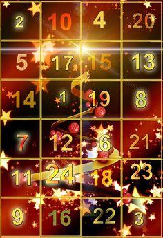 Merry christmas Advent calendar Card - xmas christmas diy customize unique gifts presents Diy Advent Calendar, Holiday Calendar, Advent Calendars, Family Gifts, Kids Gifts, Holiday Postcards, Holiday Cards, Christmas Diy, Christmas Cards