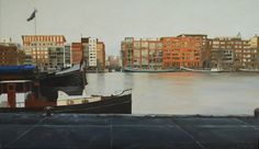 Java-eiland x 100 cm) Amsterdam, Chill, Java, Gallery, Artworks, Paintings, Galleries, Landscapes, Nostalgia