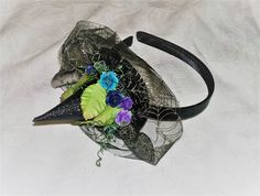 Baby Girl Headband Witch Halloween Headband Withces Hat Headband Halloween Costume Witch Baby Girl Witch Hat Floral Witch Hat Headband by on Etsy Halloween Headband, Baby Girl Halloween, Baby Girl Christmas, Halloween Costumes, Turban Headbands, Crown Headband, Baby Girl Headbands, Kids Girls, Baby Kids