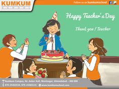 Together may we give our #Children the roots to #grown and the #wings to #fly  #Happy #Teacher's #Day #KumKumSchool