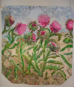 Thistles by Mary Keasler