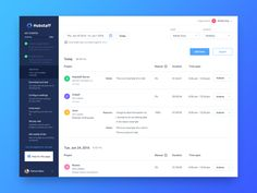 Getting started getting started time tracking app projects users table activity timesheet steps wizard dashboard sidebar Dashboard Interface, Web Dashboard, Dashboard Design, Ui Web, User Interface Design, Website Layout, Web Layout, Tracking App, Web Ui Design