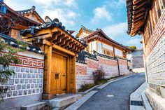 10 Amazing Things To Do In Seoul, South Korea: Bukchon Hanok Village   Photo Credit ©  vincentstthomas/Depositphotos   via @Just1WayTicket
