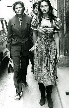 Ingrid Berman & Isabella Rossellini