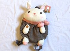 Cute rabbit backpack from Joy in a Box on Storenvy $30
