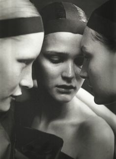 shot by Peter Lindbergh for Vogue Italia