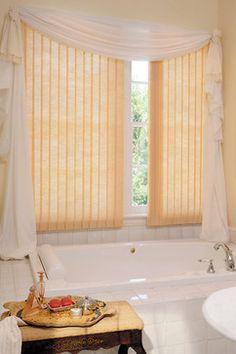 Bathroom Ideas #Hunter_Douglas #Bathroom #Bathroom_Ideas #Window_Treatments #HunterDouglas