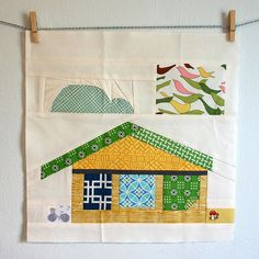 Block from Angela | {Sew} Beautiful Bee | Cara {Me? A Mom?} | Flickr