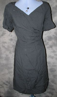 Movitex,Ladies,size 14,blue,no pattern,v neck,short sleeved,Formal,Dress.£8-99p with free uk postage