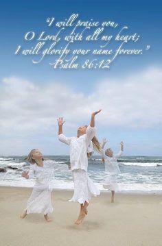 PSALM  86:12♥