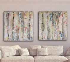 Large Abstract Painting Large Textured by ArtbySonjaAlfreider