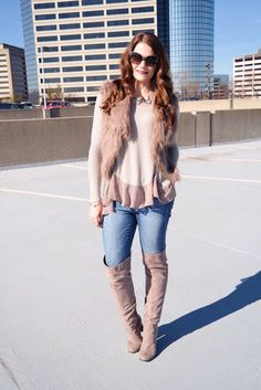 Indianapolis Style Blog | Regally Soled: Faux Fur Perfection