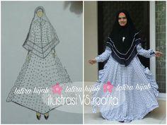 Gamis syari. Abaya. Hijab. Gamis. Khimar. Dress. Muslimah.